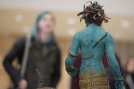 """Ray Harryhausen """"Medusa"""" puppet"""
