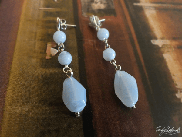 Kuka-Me Agate Earrings