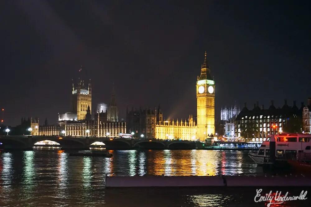 Night Time Stroll in London