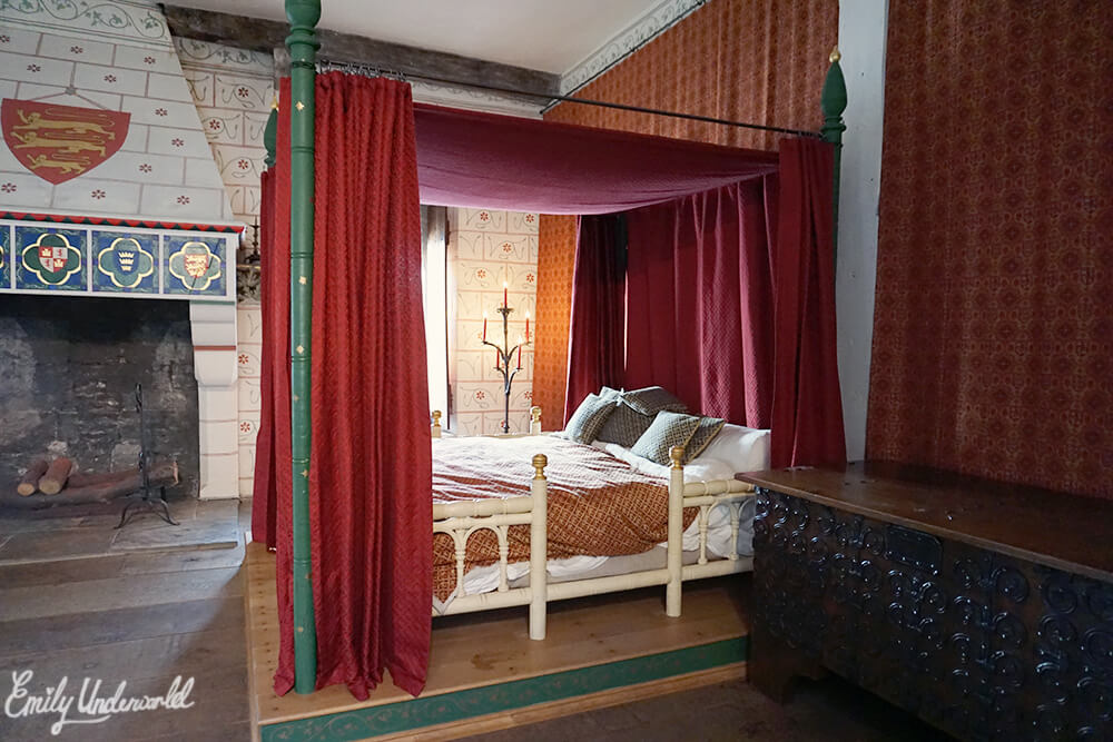 The Tower of London King's Bed