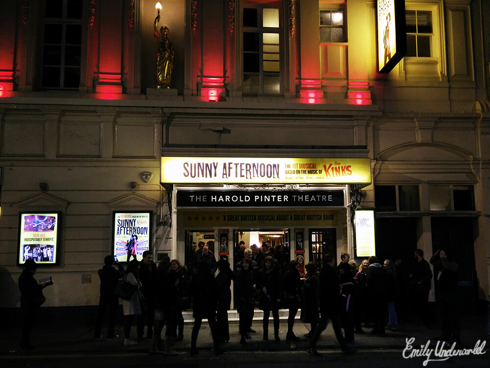 The Kinks Musical Sunny Afternoon Theatre