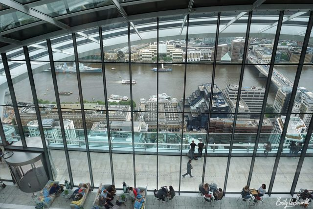 The Sky Garden View Inside