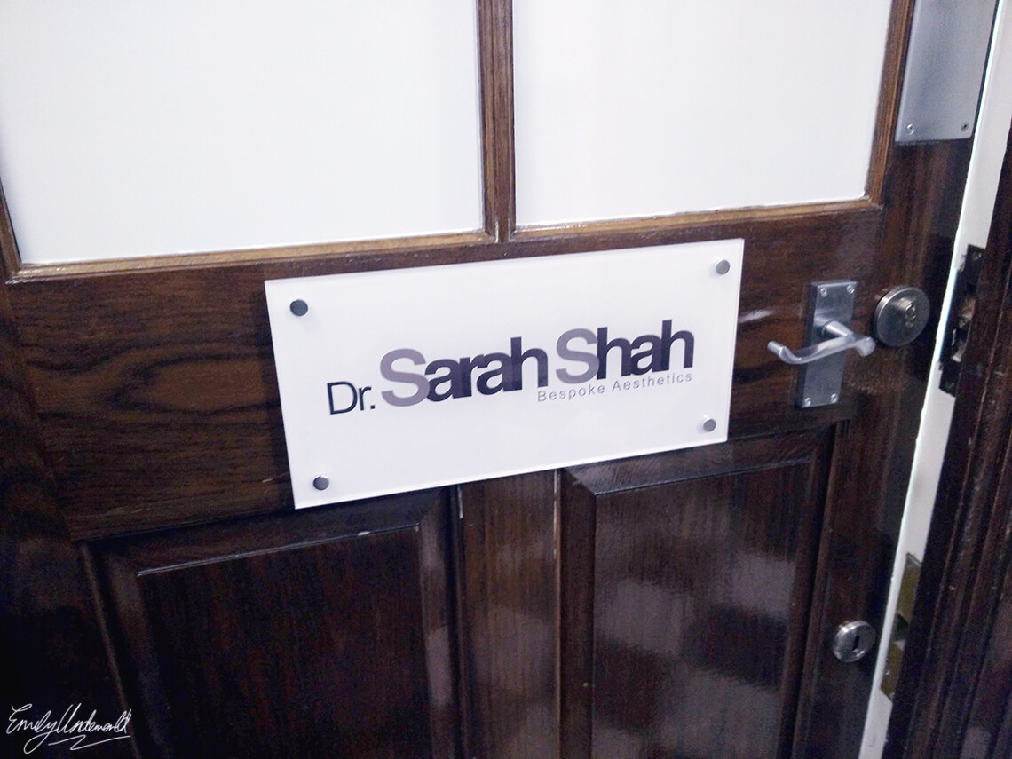 My Non-Surgical Nose Job with Dr Sarah Shah