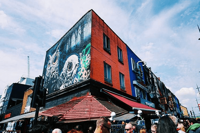 Camden Market, one of my Top 3 London Markets
