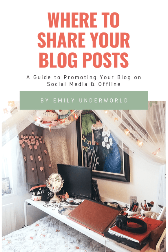 Where To Share Your Blog Posts: A Guide to Promoting Your Blog on Social Media & Offline