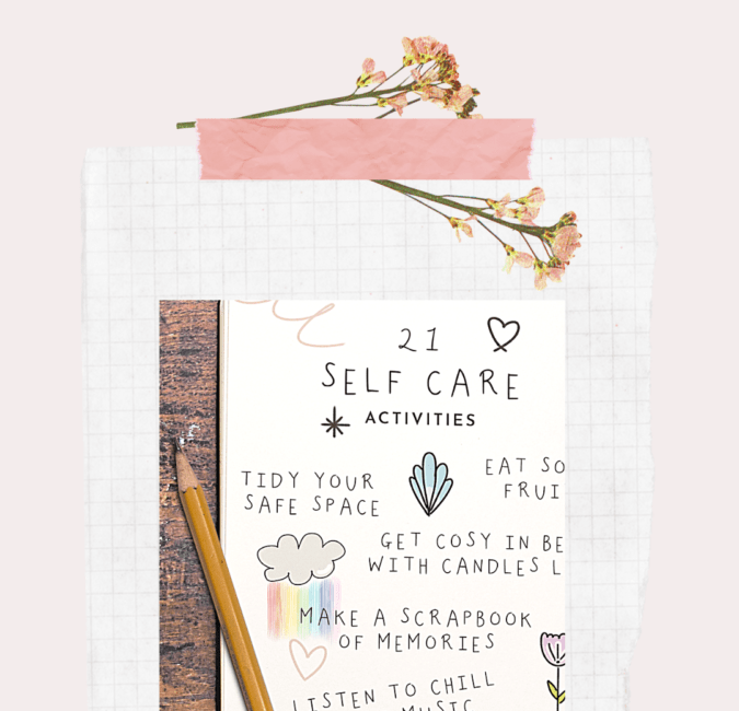 21 self-care activities to do right now
