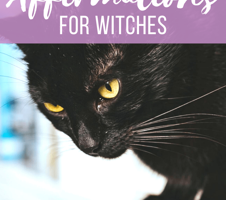 50 Powerful Affirmations for Witches