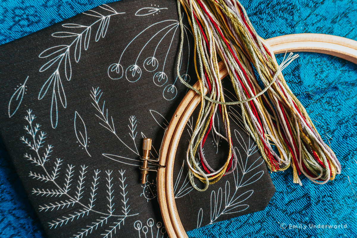 LoveCrafts Embroidery Kit for Beginners