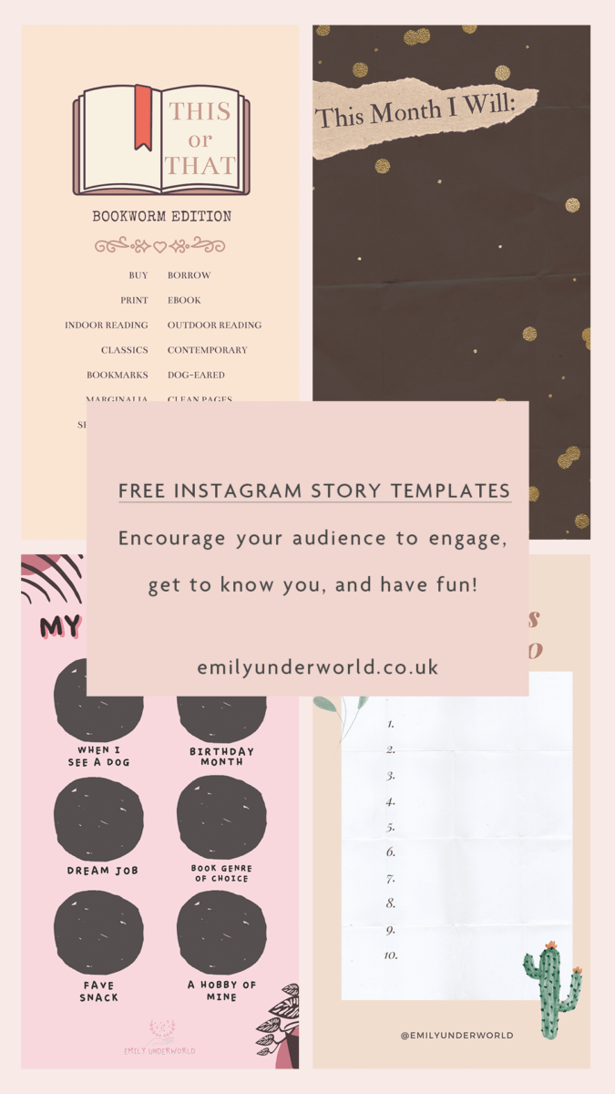 Interactive Instagram Story Templates