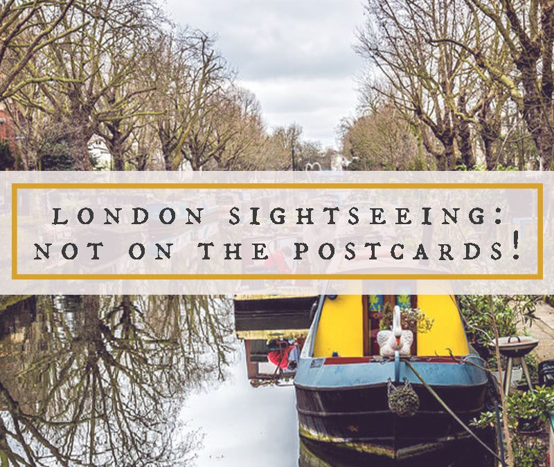 London Sightseeing Not On The Postcards