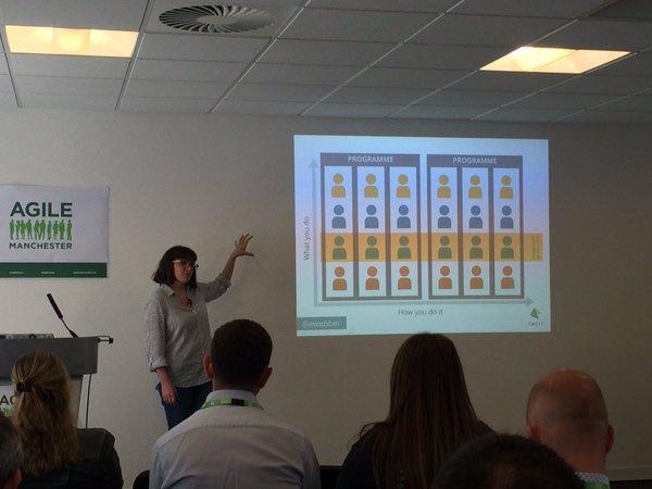 Emily Webber at Agile Manchester
