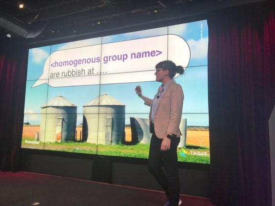 Emily Webber at Google Firestarters