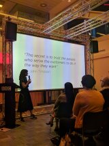 Emily Webber at TODO conference