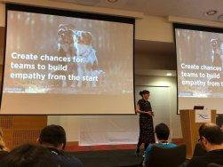 Emily Webber at Lean Agile Scotland 2018