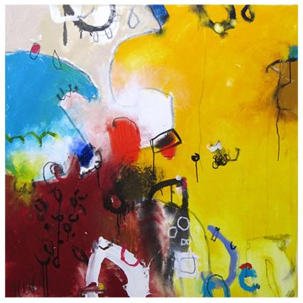 """acrylic on canvas   46"""" x 50""""   $3140 (stretched)"""