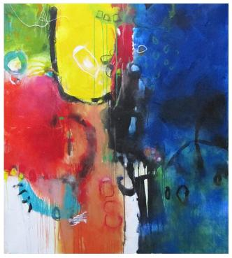 acrylics abstracts