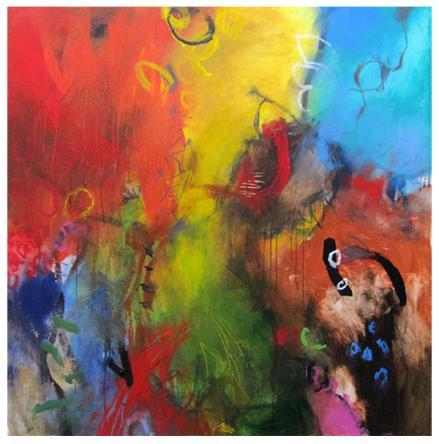 """acrylic on canvas   50"""" x 51""""   $3315"""
