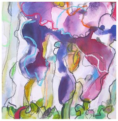watercolor, daily painting, emily weil