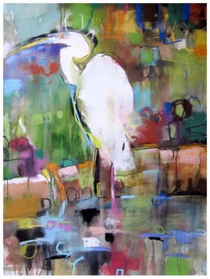 """watercolor, pastel on paper   30"""" x 22""""   SOLD   gliclee available"""