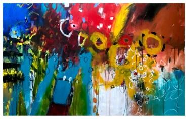 """acrylic on canvas   44"""" x 70""""   $4000"""