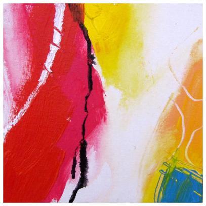 "acrylic, ink on clayboard | 8"" x 8"" | $75"