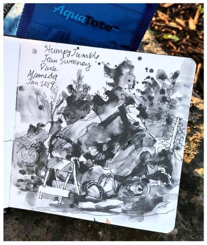 artgraf graphite, pen on paper