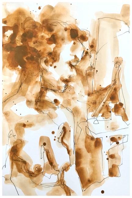 "artgraf graphite, pen on paper   10"" x 7"""