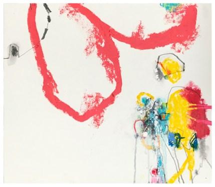 "pencil, oil pastel, crayon on paper   15.5"" x 18""   $360"