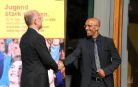 Emin da Silva und ASB-Bundesvorstandsmitglied Prof. Dr. Michael Stricker.
