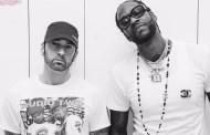 Eminem e 2 Chainz se encontram para uma sessão fotográfica