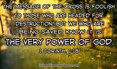 1 Corinthians 1-18