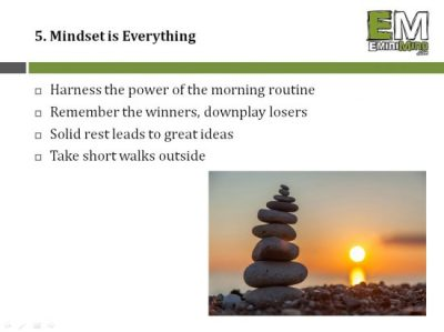 5 - Mindset is Everything