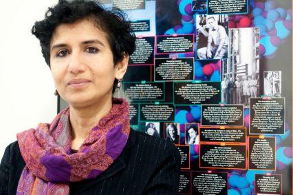 Dr. Chandralekah Singh for Pitt Mag