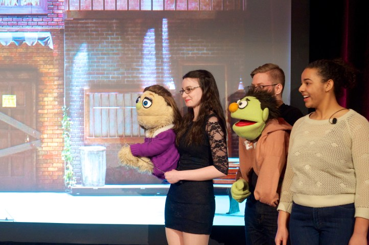 Puppets from Avenue Q