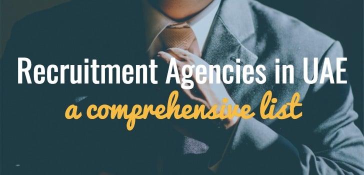 List of Recruitment Agencies in Dubai Abu Dhabi Sharjah UAE,Top
