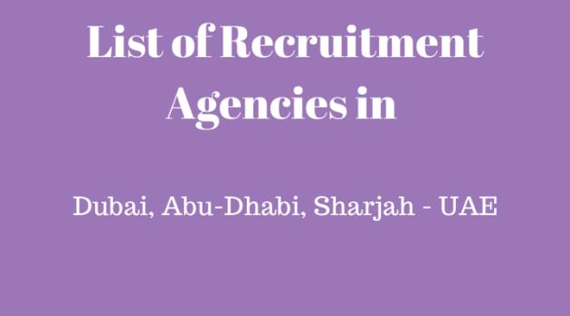 NADIA Recruitment Agency in Dubai Abu Dhabi Sharjah UAE