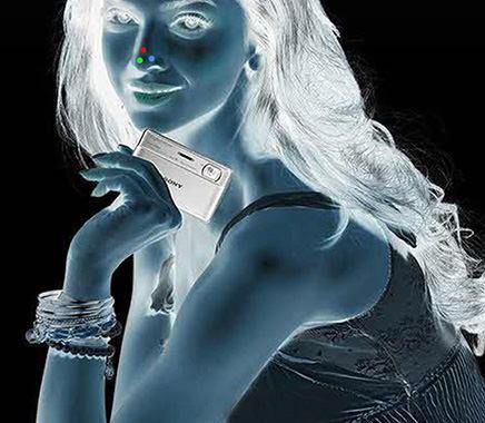 ِِAmazing eye trick – Process negative image of an Indian actress