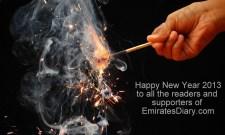 new year wishes greetings 2013 uae dubai