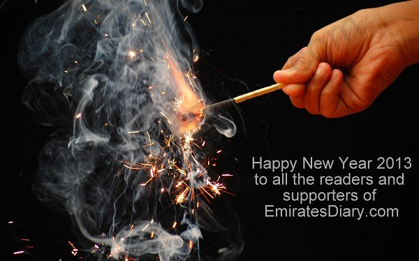 new year wishes greetings 2013 uae dubai
