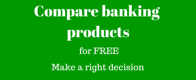 Compare banking products