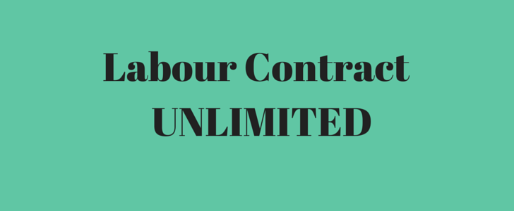 What is an Unlimited Labour Contract?