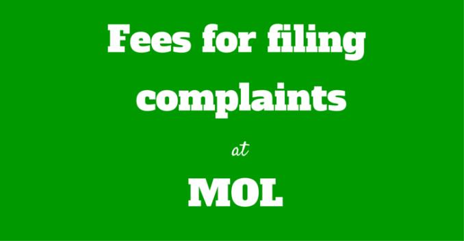 mol fees
