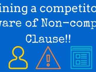 non compete clause uae labour law