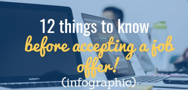 12 things to know before accepting job offer