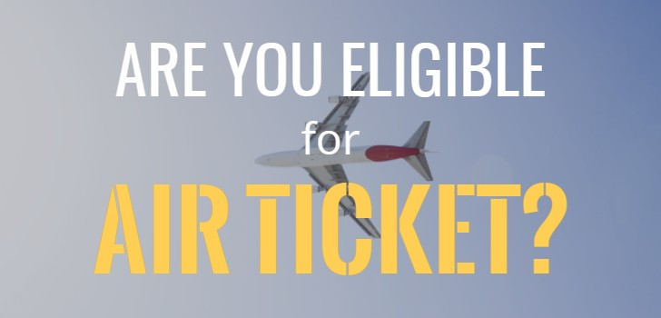 Reader question: Am I entitled for annual air ticket?