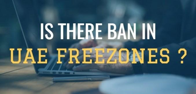 free zone ban dubai uae