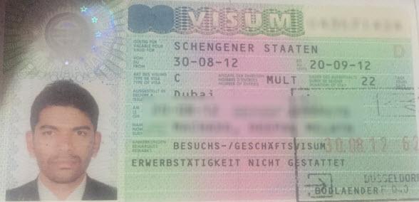 schengen visa 1