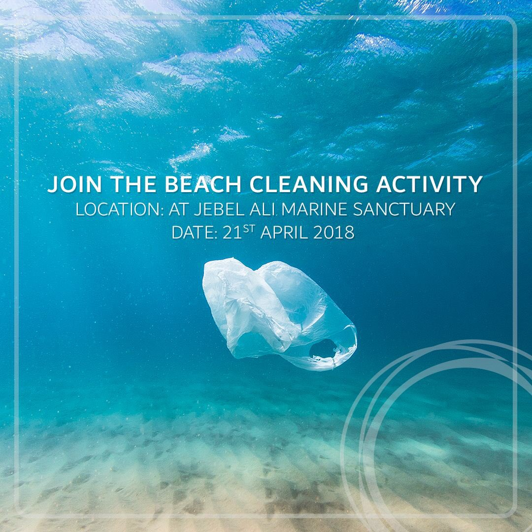 Dewa To Celebrate Earth Day With A Beach Cleaning Activity At Jebel Ali Marine Sanctuary