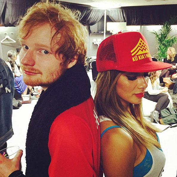 Ed_Sheeran_and_Nicole Scherzinger, celebrity couple