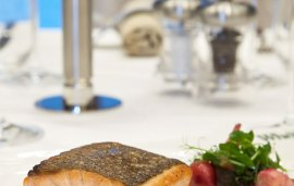 Recipe With Wheeler's| Pan-fried Salmon With Red Cabbage, Beetroot And Mustard Puree